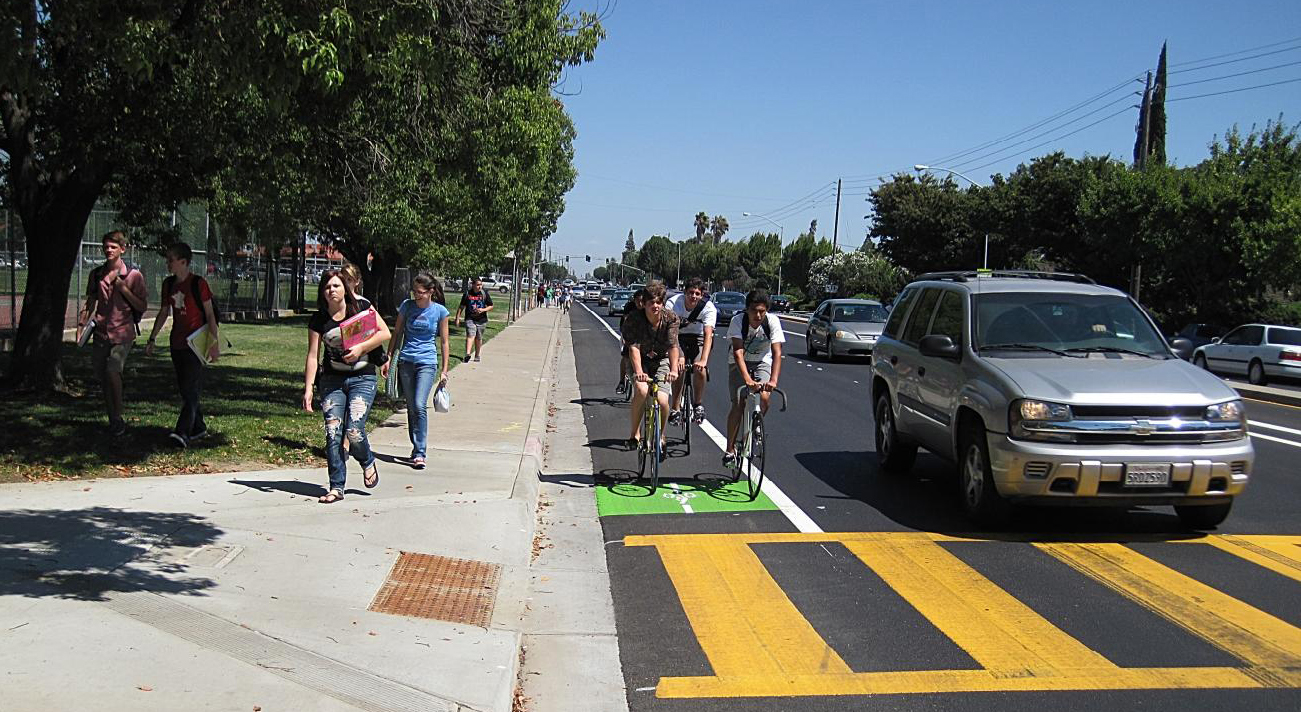 Bikes Modesto Bike lanes featuring the first