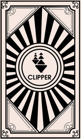 Jacob Buensalida's Art Deco-inspired design for a Clipper card